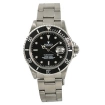 Rolex Submariner 16800 Mens Automatic Stainless Steel Watch...