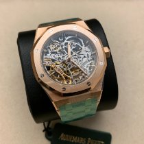 Audemars Piguet Royal Oak Double Balance Wheel Openworked Rose gold 37mm Transparent No numerals United States of America, California, Pasadena