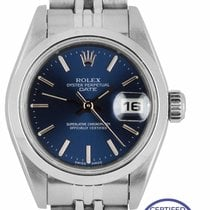 Rolex Oyster Perpetual Lady Date Steel 26mm Blue United States of America, New York, Massapequa Park