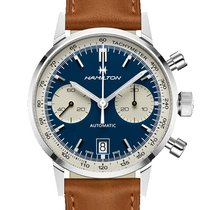 Hamilton Intra-Matic Steel 40mm Blue