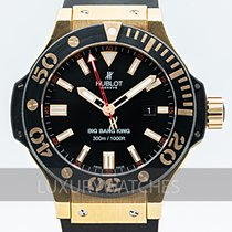 Hublot Rose gold Automatic Black 48mm pre-owned Big Bang King