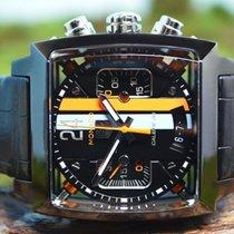 TAG Heuer Monaco Calibre 36 Staal 41mm Zwart