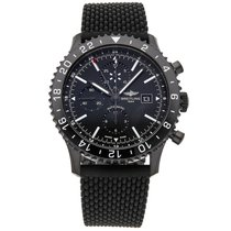 Breitling Chronoliner Steel 46mm Black No numerals United States of America, Pennsylvania, Bala Cynwyd