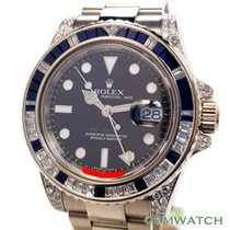 Rolex 116759SA White gold GMT-Master II 40mm pre-owned