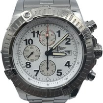 Breitling Super Avenger Steel 48mm White Arabic numerals United States of America, Florida, Naples