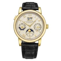 A. Lange & Söhne 310.021 Yellow gold 2005 Langematik Perpetual 38.5mm pre-owned United States of America, Connecticut, Greenwich