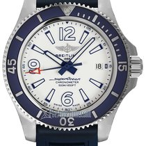 Breitling Superocean 42 Steel 42mm White United States of America, New York, Airmont