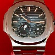 Patek Philippe Nautilus Steel 40mm Blue No numerals