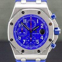 Audemars Piguet Royal Oak Offshore Chronograph Steel 42mm Blue Arabic numerals United States of America, Massachusetts, Boston