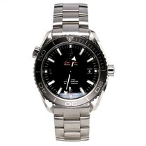 Omega Seamaster Planet Ocean Steel 45.5mm Black Arabic numerals United States of America, North Carolina, Asheville
