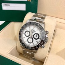 Rolex pre-owned Automatic 40mm White Sapphire Glass 10 ATM