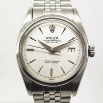 Rolex Datejust Stahl 35mm Weiß Keine Ziffern
