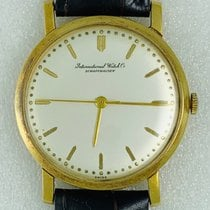 IWC IWC. INTERNATIONAL WATCH CO. SCHAFFHAUSEN. 18K /750  Gold 1970 pre-owned