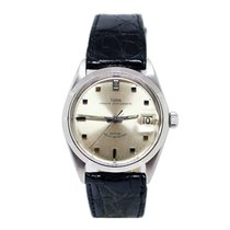 Tudor Prince Oysterdate Steel 34mm Silver No numerals