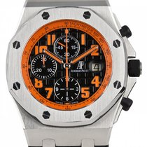 Audemars Piguet Royal Oak Offshore Chronograph Volcano Ατσάλι 42mm Μαύρο Αραβικοί