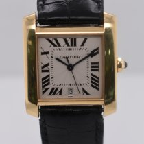 Cartier Tank Française Yellow gold 28 mmmm Gold Roman numerals United States of America, New York, New York
