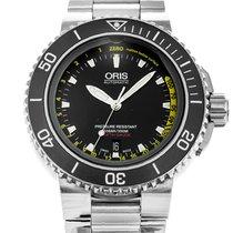 Oris Aquis Depth Gauge 01 733 7675 4154 2013 pre-owned