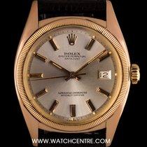 Rolex 18k Rose Gold O/P Semi Bubble Back Vintage Datejust 6105