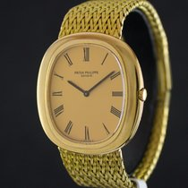 Patek Philippe ELLIPSE YELLOW GOLD CHAMPAGNE DIAL