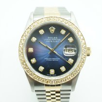 Rolex 36mm Automatic 1986 pre-owned Datejust (Submodel) Blue
