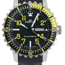 富利斯 (Fortis) Aquatis Marinemaster Day/Date Yellow 670.24.14 L.01