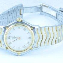 Ebel Classiv Wave Damen Uhr 23mm Stahl/ 750 Gold Klassische...