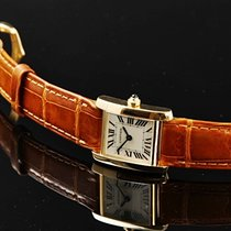 Cartier Tank Francaise Petit 750/000 Gg