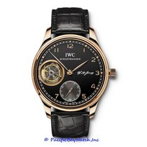 IWC Portuguese Tourbillon Rose gold 43mm Black Arabic numerals United States of America, California, Newport Beach