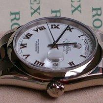 Rolex DAYDATE WEISSGOLD REF 118209+LC EU+WIE NEU+ Box & Papiere