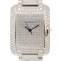 Cartier Tank Anglaise White gold 29.8mm Silver