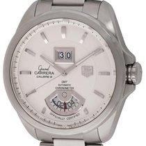 TAG Heuer : Grand Carrera GMT :  WAV5112.BA0901 :  Stainless...