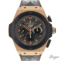 Hublot King Power pre-owned 48mm Rose gold
