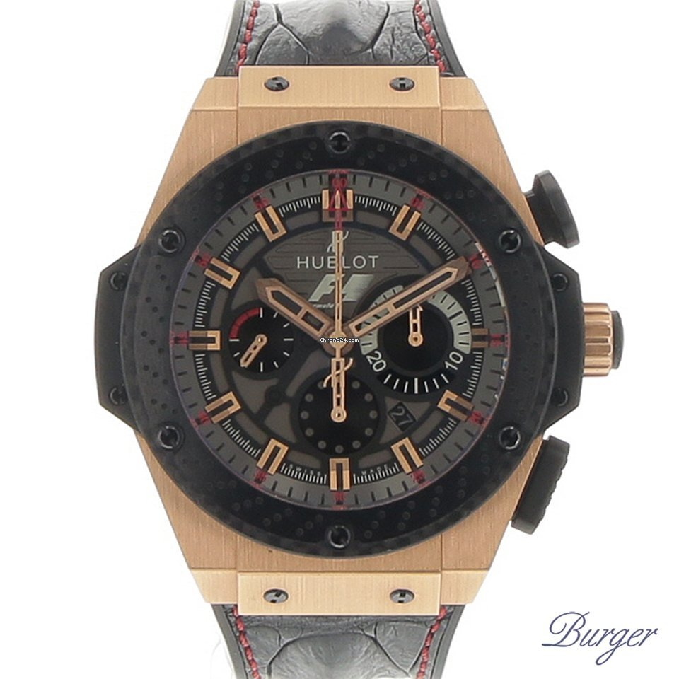10d5727ff99 Hublot King Power Rose Gold F1 Great Britain Limited Edition