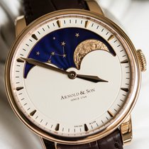 Arnold & Son HM Perpetual Moon Oro rosa 42mm