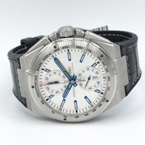 IWC Ingenieur Chronograph Racer 45mm, Silver Dial - Steel