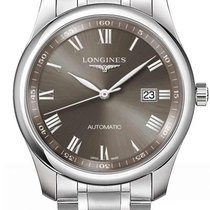 Longines Steel Automatic Grey Roman numerals 40mm new Master Collection