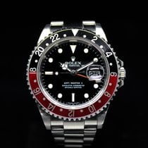 Rolex GMT-Master 2 16710 stick dial Box & Papers