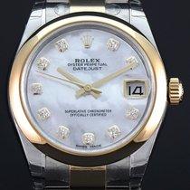 Rolex Lady-Datejust Gold/Stahl 31mm Perlmutt Keine Ziffern Deutschland, Essen