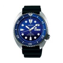Seiko Prospex Acél 45mm Kék Számjegyek nélkül