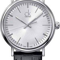ck Calvin Klein new Quartz Luminescent Hands 43mm Steel Mineral Glass