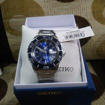 Seiko 42mm Automatic new 5 Sports Blue