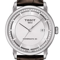 Tissot Luxury Automatic Staal 41mm Zilver