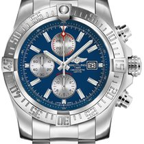 Breitling Super Avenger II Steel 48mm Blue No numerals United States of America, Iowa, Des Moines