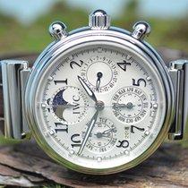 IWC Da Vinci Perpetual Calendar neu 41.5mm Stahl