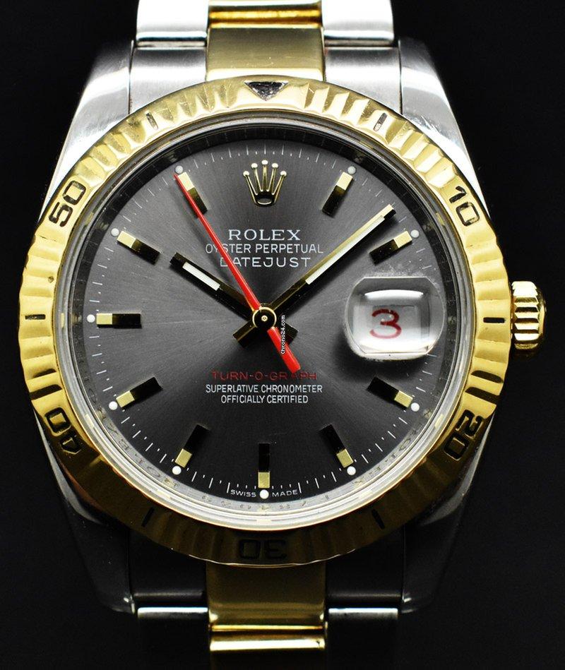 1f4773abedc Rolex Datejust Turn-O-Graph - Precios de Rolex Datejust Turn-O-Graph en  Chrono24