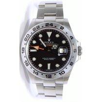 Rolex Explorer II 216570 pre-owned