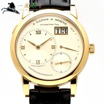 A. Lange & Söhne Lange 1 Yellow gold 39mm Silver