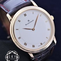 Blancpain Yellow gold 34mm Automatic Villeret Ultra-Slim pre-owned