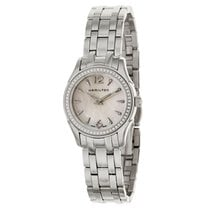 Hamilton Jazzmaster Lady Steel 33mm Mother of pearl Arabic numerals