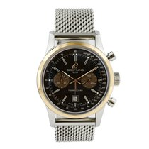 Breitling Transocean Chronograph 38 Steel 38mm Brown United States of America, New York, New York
